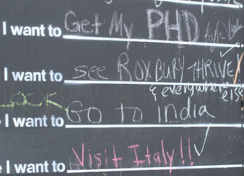 I want to see ROXBURY THRIVE!