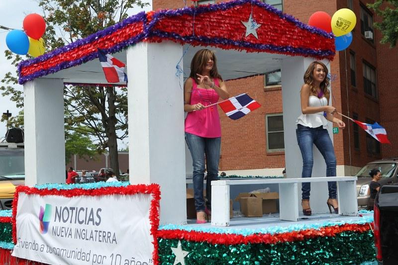 Univision float