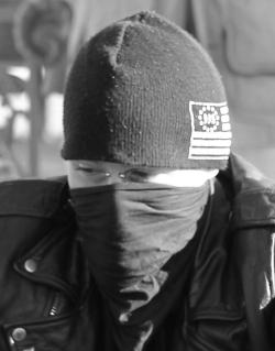 Occupy Boston protester
