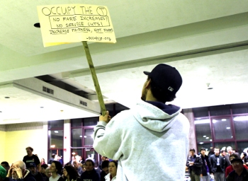 Occupy the T sign