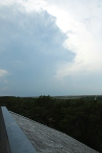 Thundercloud in distance