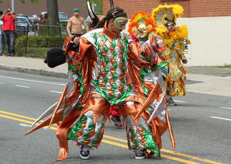 Dancer in costume